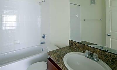 Bathroom, Lakeshore Apartments, 2