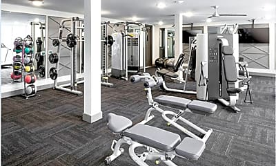 Fitness Weight Room, 2828 Woodside St, 2
