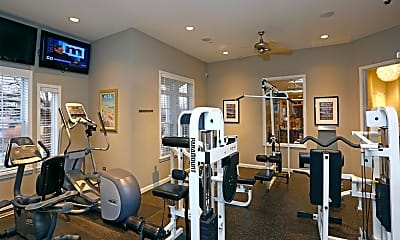Fitness Weight Room, Fox Valley Villages, 1