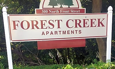 Community Signage, Forest Creek Apartments, 0