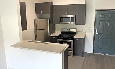Kitchen, Monarch Apartments, 1