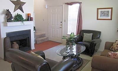 Living Room, Chisholm Trail Townhomes, 0