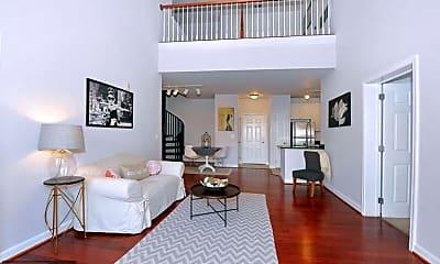 Living Room, 501 Hungerford Dr 308, 0
