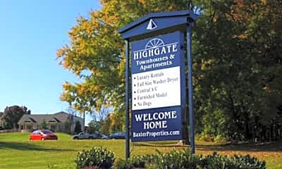 Highgate Apartments and Townhomes, 1