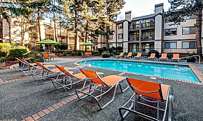 Pool, Sutter's Square, 1