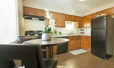 Kitchen, The Boulevard Townhomes, 2