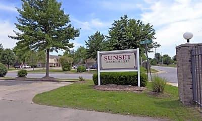 Community Signage, Sunset and Holcomb Street, 2