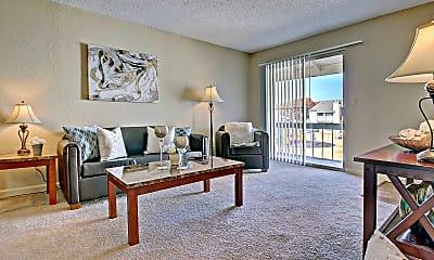 Living Room, Woodland Hills, 0