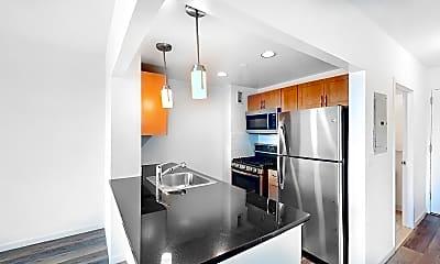 Kitchen, 229 Chrystie Street, Unit 1008, 1