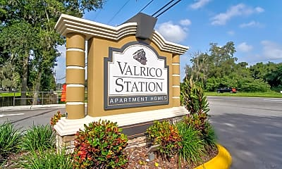 Community Signage, Valrico Station Apartments, 2