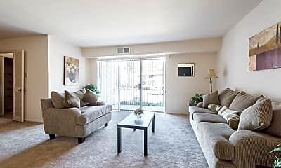 Living Room, Fox Rest, 1