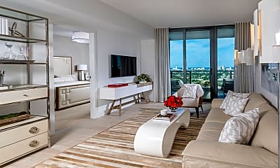 Living Room, 500 E Las Olas Blvd 4305, 1