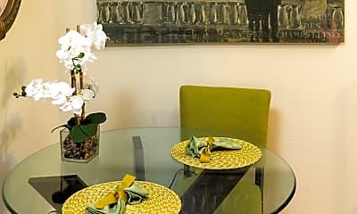 Dining Room, Brandywine Hills Apartments, 1
