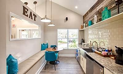 Kitchen, Audubon Village, 1