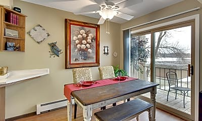Dining Room, Beach South At The Lake, 1
