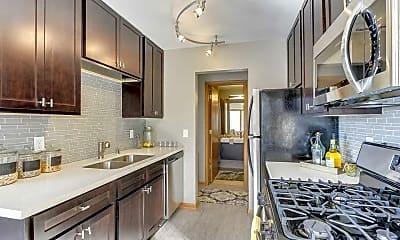 Kitchen, Galleria Flats, 1