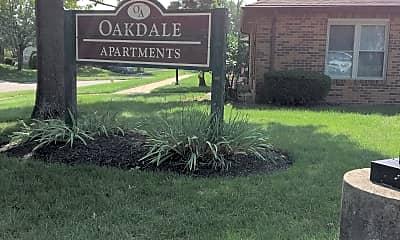 Oakdale Apartments, 1