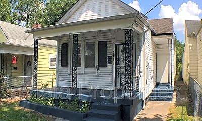 Building, 1413 Hazel St, 1