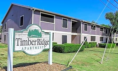 Community Signage, Timber Ridge Apartment Homes, 1