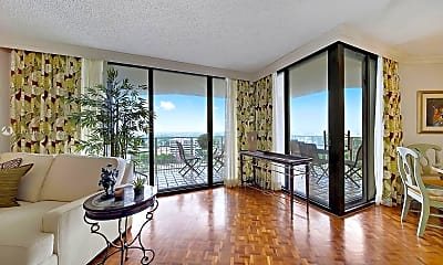 Living Room, 2000 Towerside Terrace 1905, 0