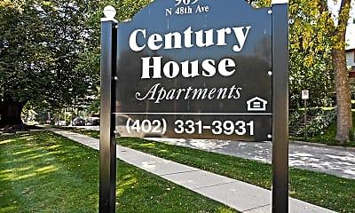 Community Signage, Century House, 0