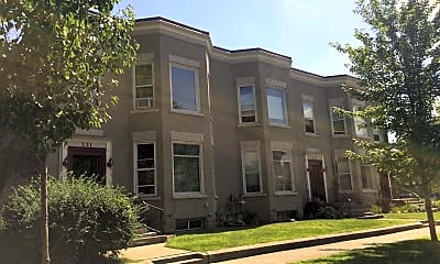 Building, Division Street Apartments, 1