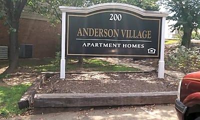 Anderson Village Apartments, 1