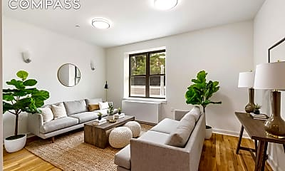 Living Room, 799 Jefferson Ave 4-F, 1