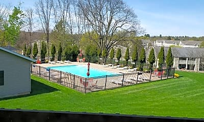 Pool, New Legacy Apartments, 2