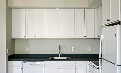 Kitchen, Forest City Apartments, 1