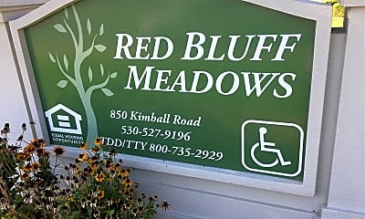 Red Bluff Meadows, 1
