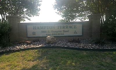 Hampton Terrace Apts, 1