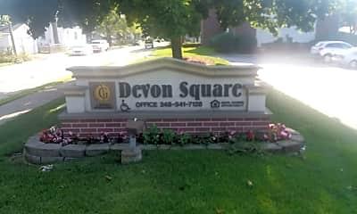 Devon Square Apartments, 1
