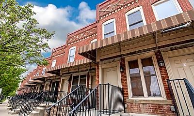 Building, 2 1/2 Clark Pl, 1