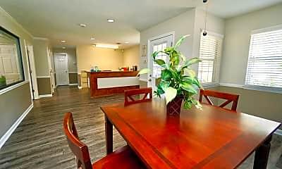 Dining Room, Quail Ridge Apartments, 1