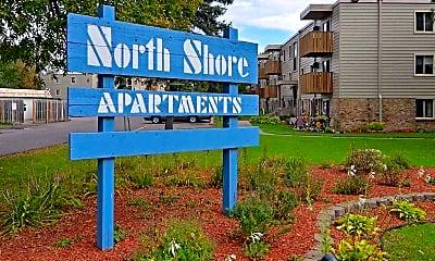 Community Signage, North Shore Apartments, 2