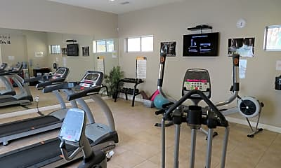 Fitness Weight Room, Luxury Living at Tyler, 2