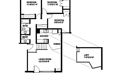 Living Room, 4588 S 20th St, 2