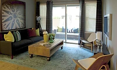 Living Room, Township Luxury Apartments, 1