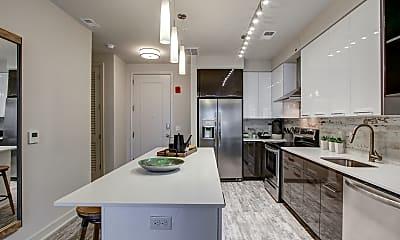 Kitchen, 672 Flats, 1