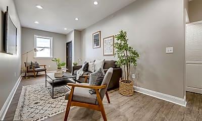 Living Room, 3221 Noble St 5, 1