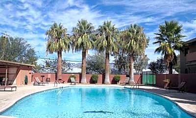 Pool, San Simeon, 1