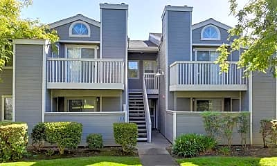 Building, The Cottages Apartments, 1