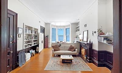 Living Room, 172 Marlborough Street, #1R, 0