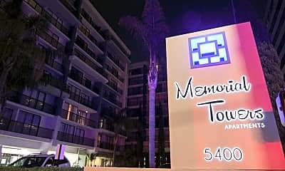 Night / Evening, Memorial Towers, 2