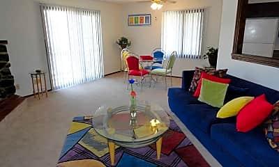 Living Room, Fireside Village Apartments, 0