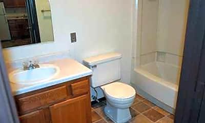 Bathroom, Whispering Pines Apartments, 2