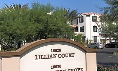 Bloomington Grove & Lillian Court, 1