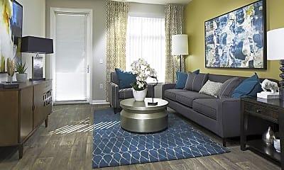 Living Room, Talavera Apartments, 1
