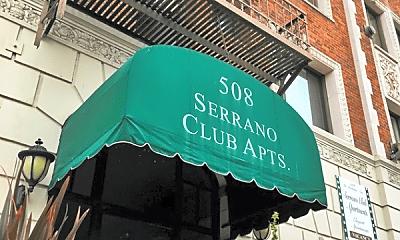 Community Signage, 508 S Serrano Ave, 2